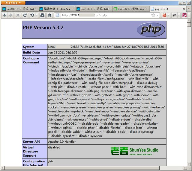 先来解释一下,什么是 LAMP。正如标题所言,LAMP 实际上就是 Linux、Apache、MySQL、PHP 四个名称的缩写,当然最后一个 P 还有其他说法是 Perl 或者 Python。不用多说了,本文讲解的就是 Linux、Apache、MySQL、PHP 这四个东西,所以就这样解释了。   自己很早就在做网站,最初玩的是 ASP,后来主要研究 .