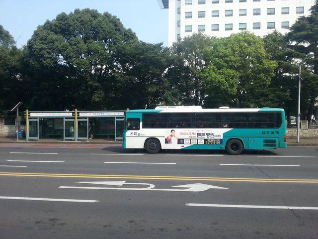 韩国的公共汽车和公共汽车站